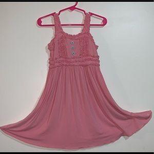 NWOT-Matilda Jane Harbor Pink Emilia Dress SZ 4